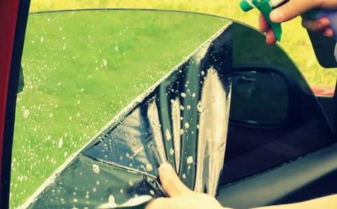 Тонировка стекол своими руками не снимая стекол