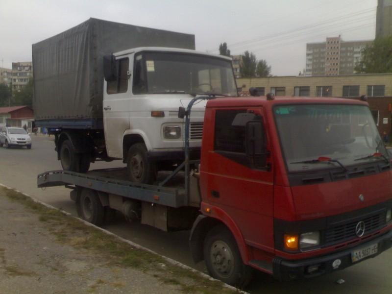 эвакуация грузового тс