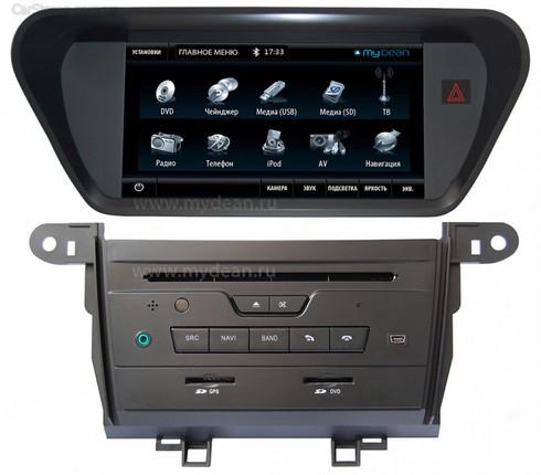 Штатная магнитола MyDean 7102 для автомобиля Honda Accord