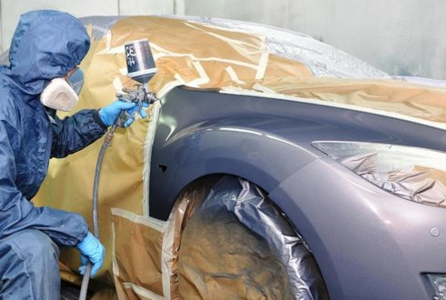 Покраска автомобиля своими руками в металлик с видео