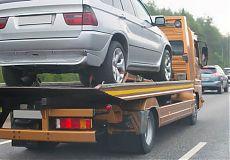 Эвакуация автомобиля с полной погрузкой