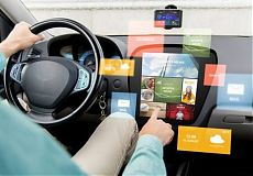 Мультимедийное оборудование для авто