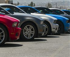 Продажа американских автомобилей на аукционе