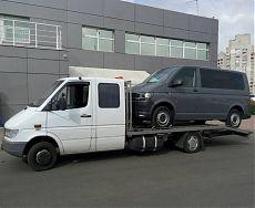 Перевозка буса с автосалона