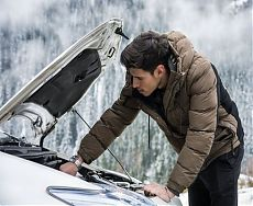 Запуск двигателя в сильный мороз