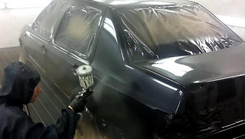 Покраска автомобиля своими руками от А до Я 19