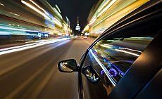 Скорость движения автомобиля